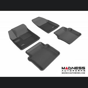 Chrysler 200 Floor Mats (Set of 4) - Black by 3D MAXpider (2012-2014)