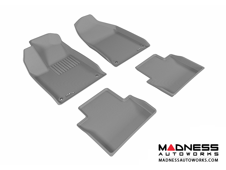 chrysler chrysler 200 floor mats set of 4 gray by 3d maxpider 2015 madness autoworks. Black Bedroom Furniture Sets. Home Design Ideas