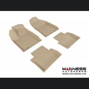 Chrysler 200 Floor Mats (Set of 4) - Tan by 3D MAXpider (2015-)