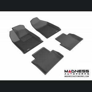 Chrysler 200 Floor Mats (Set of 4) - Black by 3D MAXpider (2015-)