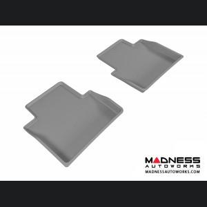 Chrysler 200 Floor Mats (Set of 2) - Rear - Gray by 3D MAXpider (2015-)