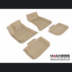 Chrysler 300/ 300C Floor Mats (Set of 4) - Tan by 3D MAXpider (2011-2015)