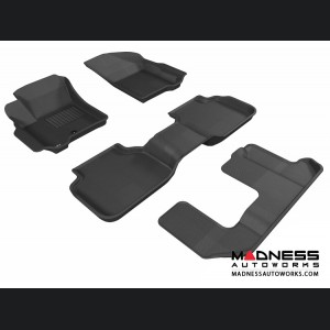 Dodge Journey Floor Mats (Set of 4) - Black by 3D MAXpider