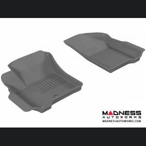 Dodge Journey Floor Mats (Set of 2) - Front - Gray by 3D MAXpider