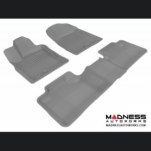Dodge Durango Floor Mats (Set of 3) - Gray by 3D MAXpider