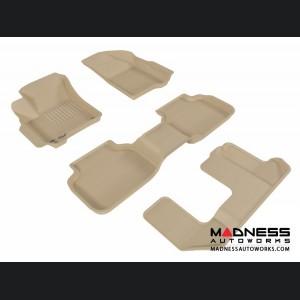Dodge Journey Floor Mats (Set of 4) - Tan by 3D MAXpider