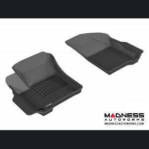 Dodge Journey Floor Mats (Set of 2) - Front - Black by 3D MAXpider