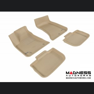 Dodge Charger Floor Mats (Set of 4) - Tan by 3D MAXpider (2011-2015)