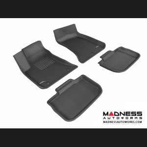 Dodge Charger Floor Mats (Set of 4) - Black by 3D MAXpider (2011-2015)