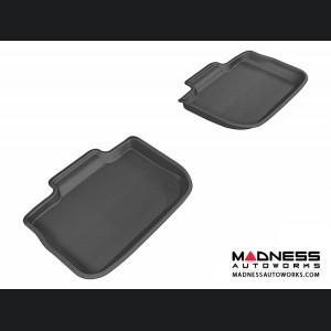Chrysler 300/ 300C Floor Mats (Set of 2) - Rear - Black by 3D MAXpider (2011-2015)