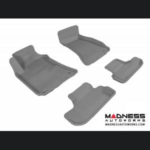 Dodge Challenger Floor Mats (Set of 4) - Gray by 3D MAXpider (2008-2010)