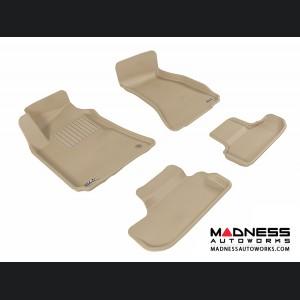 Dodge Challenger Floor Mats (Set of 4) - Tan by 3D MAXpider (2008-2010)