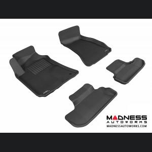 Dodge Challenger Floor Mats (Set of 4) - Black by 3D MAXpider (2008-2010)