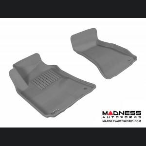 Dodge Challenger Floor Mats (Set of 2) - Front - Gray by 3D MAXpider (2008-2010)