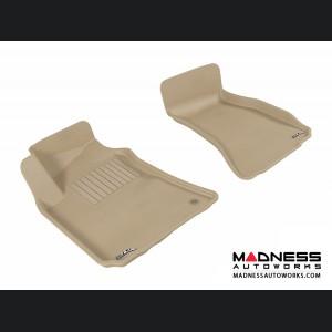 Dodge Challenger Floor Mats (Set of 2) - Front - Tan by 3D MAXpider (2008-2010)