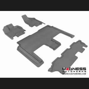 Dodge Grand Caravan Floor Mats (Set of 4) - Gray by 3D MAXpider