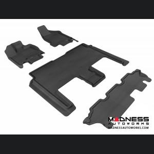 Dodge Grand Caravan Floor Mats (Set of 4) - Black by 3D MAXpider