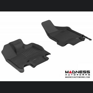 Dodge Grand Caravan Floor Mats (Set of 2) - Front - Black by 3D MAXpider