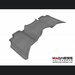 Dodge RAM 1500 Crew Cab Floor Mat - Rear - Gray by 3D MAXpider