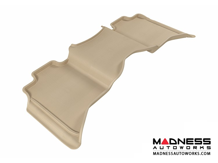 Dodge RAM 1500 Crew Cab Floor Mat - Rear - Tan by 3D MAXpider