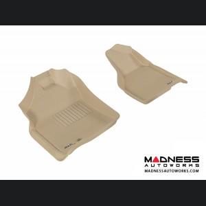 Dodge RAM 15/ 25/ 3500 Regular/ Quad Cab Floor Mats (Set of 2) - Front - Tan by 3D MAXpider