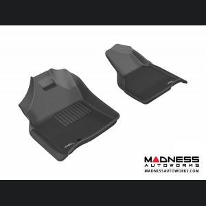 Dodge RAM 15/ 25/ 3500 Regular/ Quad Cab Floor Mats (Set of 2) - Front - Black by 3D MAXpider
