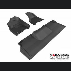 Dodge RAM 2500/ 3500 Mega Cab Floor Mats (Set of 3) - Black by 3D MAXpider