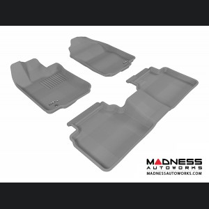 Ford Fusion Floor Mats (Set of 3) - Gray by 3D MAXpider