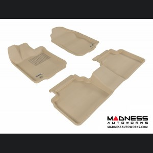 Ford Fusion Floor Mats (Set of 3) - Tan by 3D MAXpider