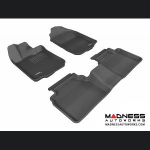 Ford Fusion Floor Mats (Set of 3) - Black by 3D MAXpider