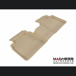 Ford Fusion Floor Mat - Rear - Tan by 3D MAXpider