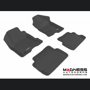 Ford Focus Floor Mats (Set of 4) - Black by 3D MAXpider
