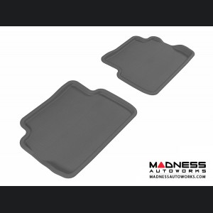 Ford Focus Floor Mats (Set of 2) - Rear - Gray by 3D MAXpider