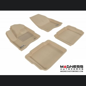 Ford Taurus Floor Mats (Set of 4) - Tan by 3D MAXpider