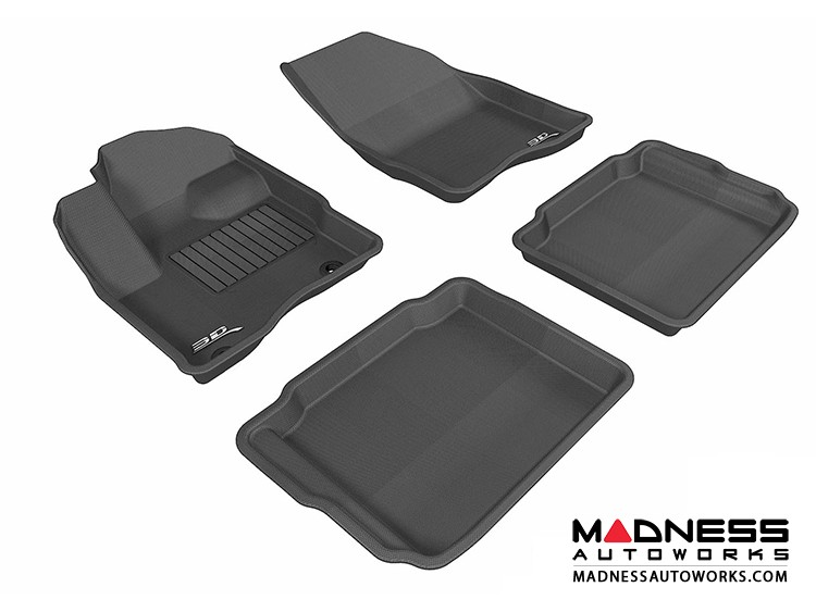 Ford Taurus Floor Mats (Set of 4) - Black by 3D MAXpider