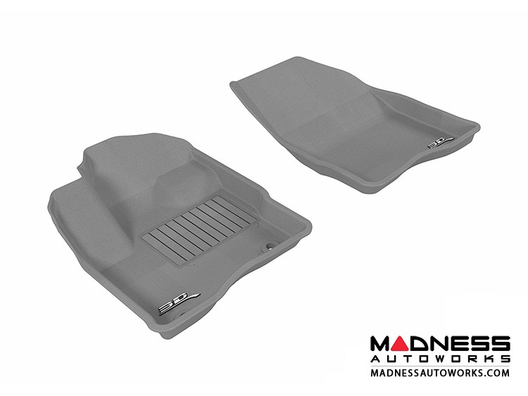 Ford Taurus Floor Mats (Set of 2) - Front - Gray by 3D MAXpider