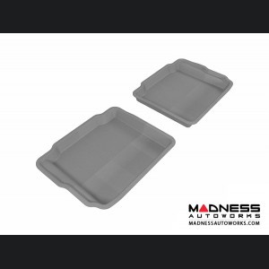 Ford Taurus Floor Mats (Set of 2) - Rear - Gray by 3D MAXpider