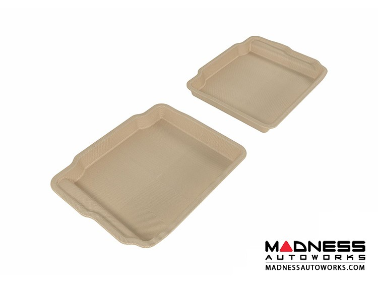 Ford Taurus Floor Mats (Set of 2) - Rear - Tan by 3D MAXpider