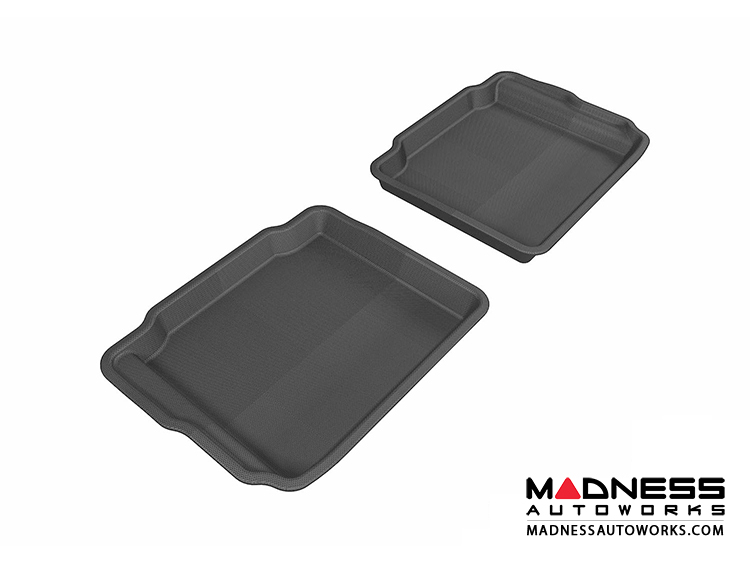 Ford Taurus Floor Mats (Set of 2) - Rear - Black by 3D MAXpider