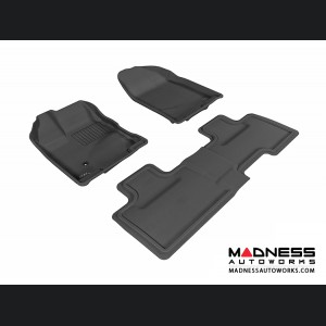 Ford Edge Floor Mats (Set of 3) - Black by 3D MAXpider