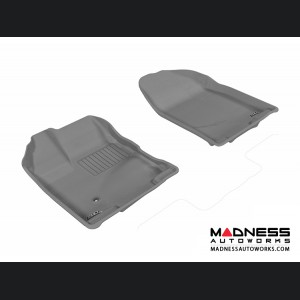 Ford Edge Floor Mats (Set of 2) - Front - Gray by 3D MAXpider