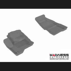 Ford Flex Floor Mats (Set of 2) - Front - Gray by 3D MAXpider