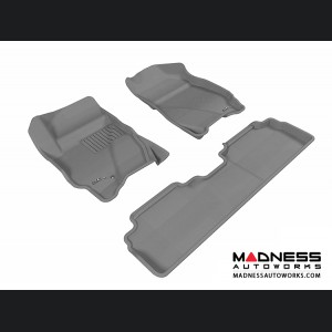 Ford Escape Floor Mats (Set of 3) - Gray by 3D MAXpider