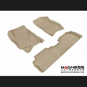 Ford Escape Floor Mats (Set of 3) - Tan by 3D MAXpider