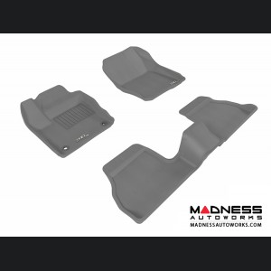Ford Focus Floor Mats (Set of 3) - Gray by 3D MAXpider