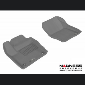 Ford Focus Floor Mats (Set of 2) - Front - Gray by 3D MAXpider