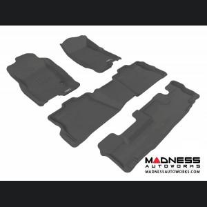 Ford Explorer Floor Mats (Set of 4) - Black by 3D MAXpider