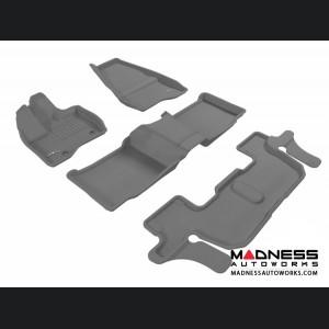 Ford Explorer Floor Mats (Set of 4) - Gray by 3D MAXpider