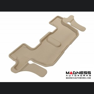 Ford Explorer Floor Mat - 3rd Row - Tan by 3D MAXpider