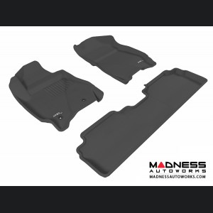 Ford Escape Floor Mats (Set of 3) - Black by 3D MAXpider